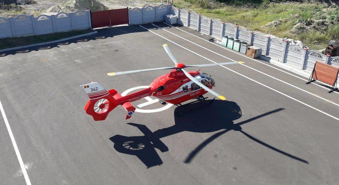 Accident grav la Edineț între un scuter și un autoturism: Un adolescent în comă a fost adus de un echipaj SMURD la Chișinău