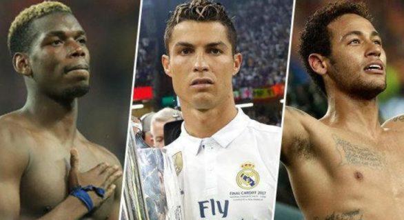TOP 10 cele mai scumpe transferuri din istoria fotbalului