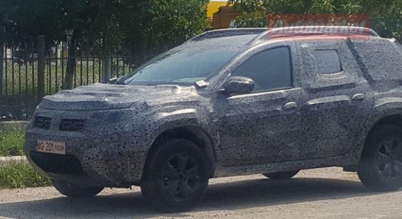 (FOTO și VIDEO) Noua Dacia Duster, surprinsă pe stradă; Cum va arăta SUV-ul românesc