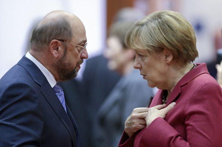 Merkel refuză să mai apară la dezbateri cu Schulz