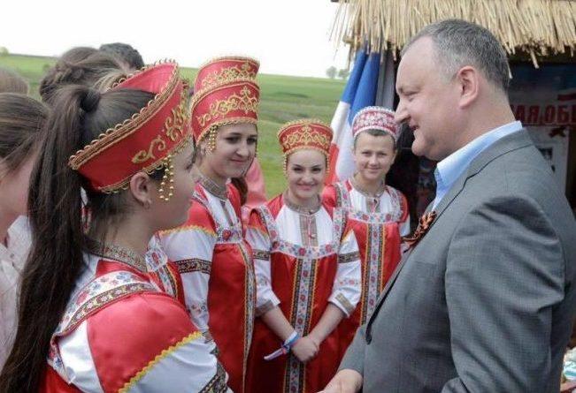 """Igor Dodon participă la festivitățile de la Comrat: """"Alimentează separatismul teritorial"""""""