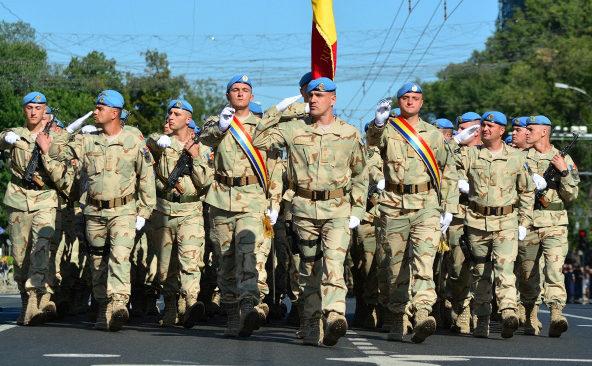 Pacificatorii Armatei Naţionale a Republicii Moldova participă la parada militară din Ucraina