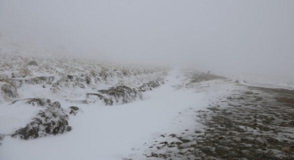 Prima ninsoare în munții din România! Cât măsoară stratul de zăpadă