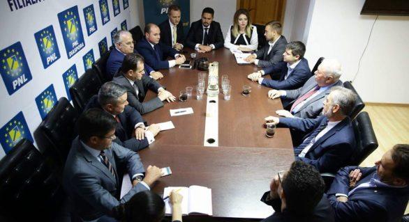 Întrevedere PLDM – PNL România: Forțele pro-europene trebuie să facă front comun împotriva guvernării