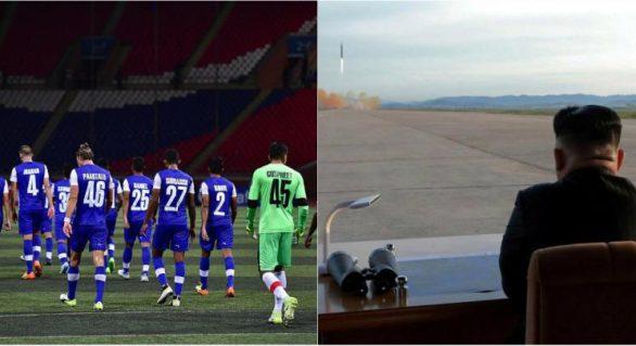 Un fotbalist face dezvăluiri inedite despre viața în Coreea de Nord: Rachetele zboară pe la geamuri