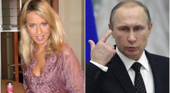"""Ce legătură din trecut există între Putin și Ksenia Sobchak, considerată """"contracandidata-caricatură"""" a președintelui rus"""