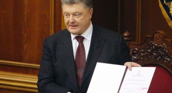 Petro Poroșenko a promulgat legea care restricționează predarea în limba minorităților naționale