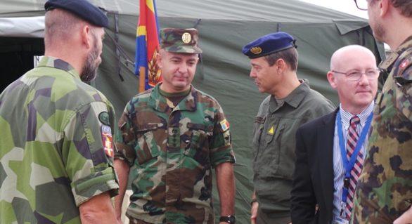 Condițiile de păstrare a tehnicii și munițiilor Armatei Naționale, verificate de un grup internațional de experți