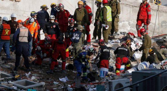 Mexicul zguduit de un nou cutremur. Clădirile s-au mișcat chiar în timpul operațiunilor de slavare