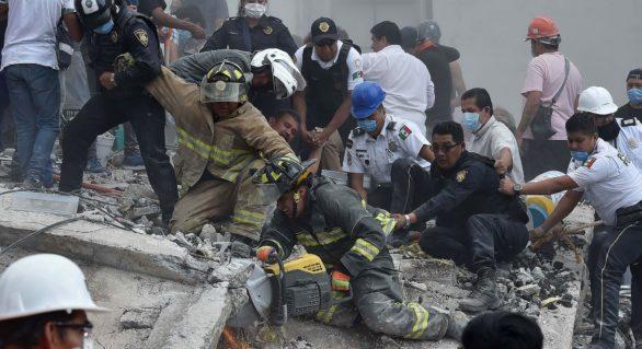Bilanţul victimelor cutremurului din Mexic a ajuns la 273 de persoane