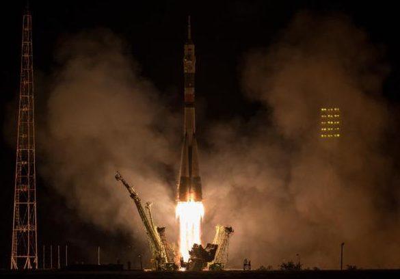 Doi americani și un rus au ajuns în spațiu cu o rachetă de tip Soiuz: Ce misiune au aceștia