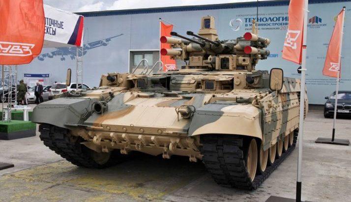 Armata rusă utilizează conflictul sirian pentru a testa un tanc de recunoaștere