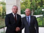 """Putin, derutat de vasalitatea lui Dodon """"în numele poporului moldovenesc"""""""