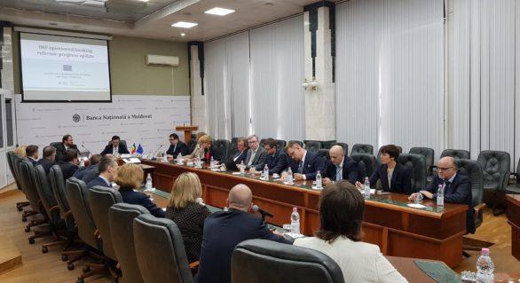 Şefii misiunilor diplomatice din țările UE în Moldova, în discuţii cu ministrul Finanțelor și guvernatorul BNM, după vizita acestora la Washington