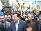(VIDEO) Mihail Saakașvili s-a alăturat miilor de protestatari anticorupție la Kiev