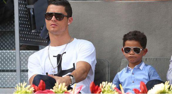 (VIDEO) Pe urmele tatălui: Gol superb marcat de fiul lui Cristiano Ronaldo