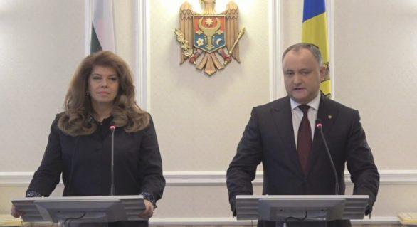 Igor Dodon, angajamente în faţa Bulgariei care nu ţin tocmai de el. Şeful statului dă asigurări că bulgarii din Taraclia vor avea o singură circumscripţie
