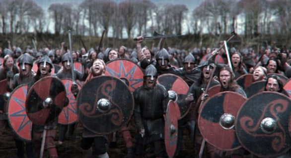Numele lui Allah a fost găsit brodat pe haine de înmormântare vikinge