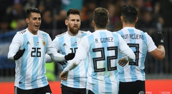 (VIDEO) Argentina învinge Rusia cu un gol din offside într-un meci de pregătire pentru CM 2018