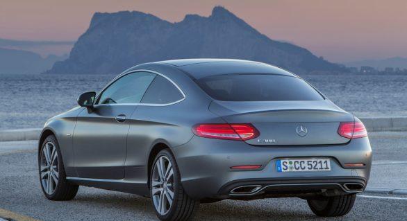 (FOTO) Cum arată un Mercedes C-Class Coupe găsit în doar 8 ore după ce a fost furat
