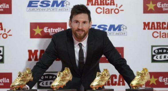 Declarația surprinzătoare a lui Messi, după ce a primit o nouă Gheată de Aur