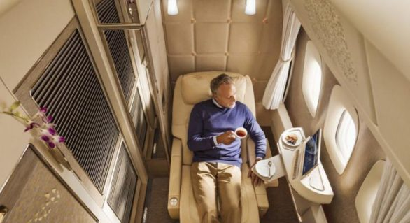 (FOTO) Lux inestimabil: Cum arată dormitoarele private cu paturi din noile avioane