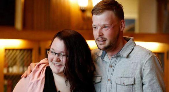 (VIDEO) Întâlnire emoționantă între bărbatul cu transplant de față și văduva donatorului