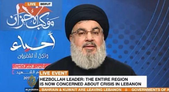 Liderul Hebollah: Arabia Saudită declară război Libanului
