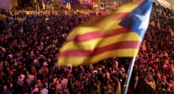 Miting la Barcelona, pentru eliberarea liderilor separatişti închişi