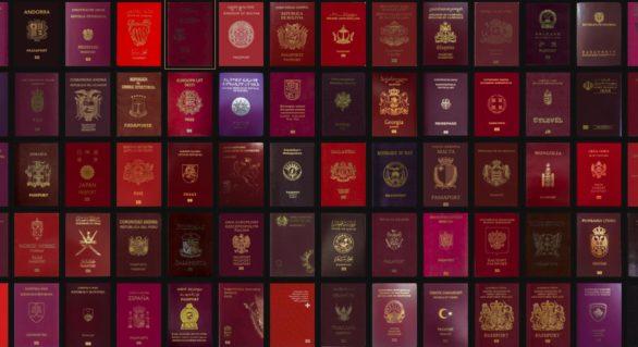 (STUDIU) Cele mai puternice paşapoarte din lume; Paşaportul cetăţeanului Republicii Moldova, la mijlocul clasamentului