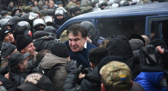 Saakașvili a primit ultimatum din partea autorităților de la Kiev