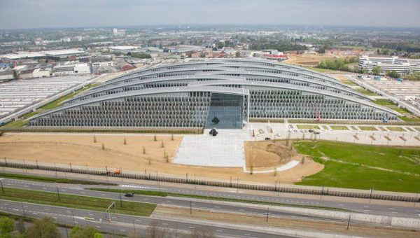 (FOTO) NATO se mută: Cum arată noul sediu din Bruxelles