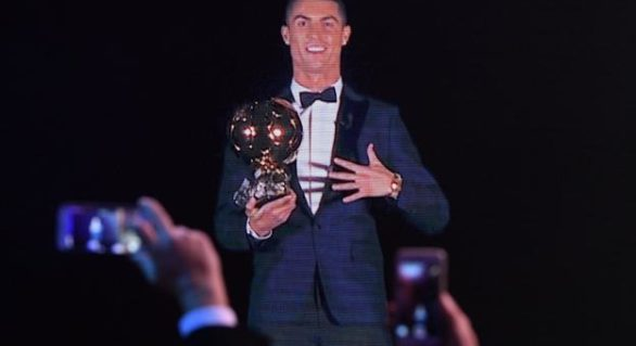Ronaldo a câștigat al 5-lea Balon de Aur: TOP 30 cei mai buni fotbaliști în 2017