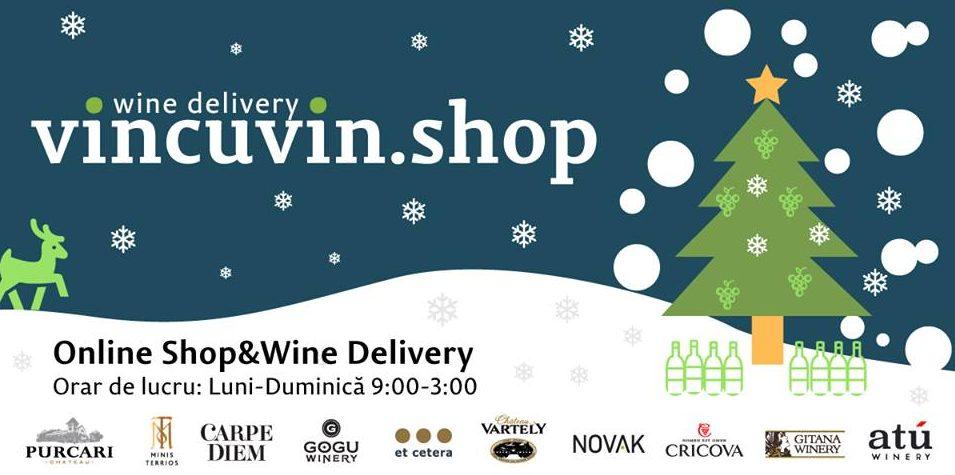 Vincuvin.shop – un nou magazin online cu livrare a vinului îmbuteliat