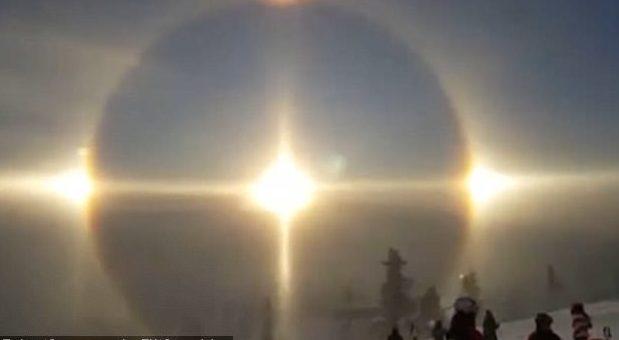 (FOTO şi VIDEO) Apariție incredibilă pe cer, în Suedia: Arată ca un înger