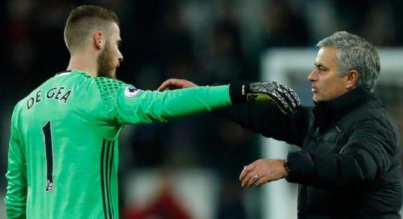 """(VIDEO) Mourinho face o nouă declarație savuroasă: """"De Gea este al treilea cel mai bun portar din lume"""""""
