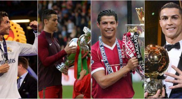 Ronaldo a vorbit despre trofeele pe care le-a câștigat; Care este preferatul său