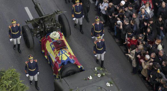 Mai mulți reprezentanți ai familiilor regale, prezenți la funeraliile Regelui Mihai