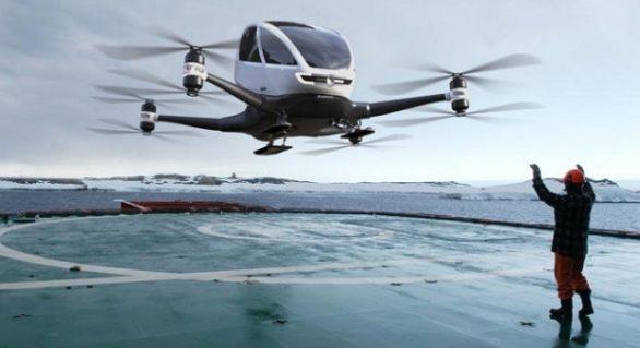 Nissan va testa anul viitor taxiurile zburătoare