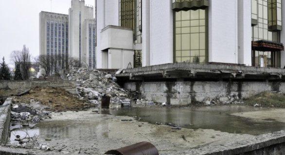 Turcii finanțează integral reparația clădirii Președinției, care va fi deschisă în cadrul vizitei lui Erdogan la Chişinău