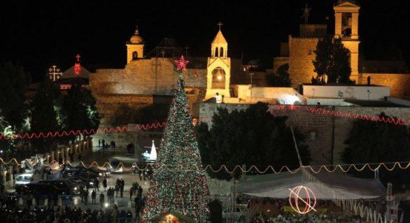 Fără precedent. Au fost stinse luminile de Crăciun din Betleem