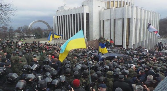 (VIDEO și FOTO) Saakașvili, eliberat de susținătorii săi: Acuzații grave la adresa conducerii Ucrainei