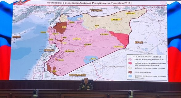 """Siria este """"în întregime eliberată"""" de Statul Islamic, iar misiunea armatei ruse de a înfrânge gruparea teroristă a fost """"îndeplinită"""", anunţă Moscova"""