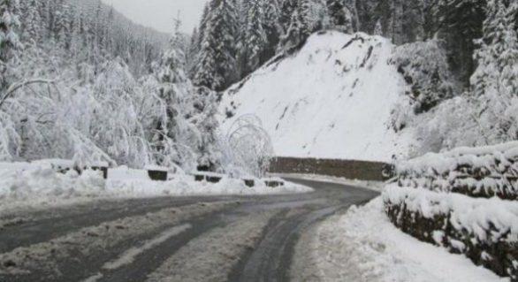 Atenţionare de călătorie: Cod galben de ninsori pentru opt regiuni din Bulgaria