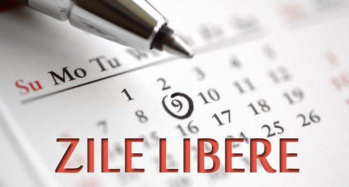 Zilele libere se schimbă: 8 martie şi 1 mai vor fi zile lucrătoare, dar vom avea mini-vacanţă de Anul Nou