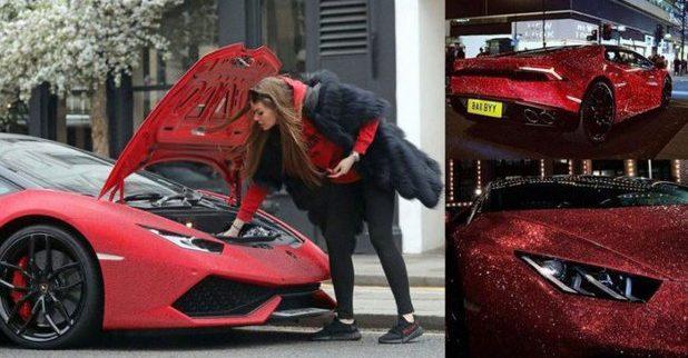 (FOTO și VIDEO) Ce a făcut o moldoveancă cu un Lamborghini Huracan de 200.000 de euro; Toţi se opresc să-i facă fotografii