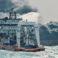 (FOTO și VIDEO) Pată de țiței în largul mării cât dimensiunea Parisului