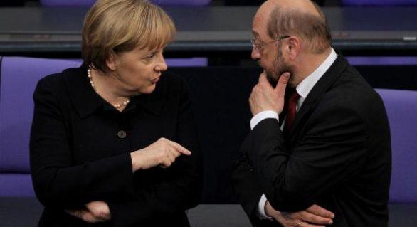 """Acord la Berlin pentru negocieri de formare a unei """"mari coaliții"""""""