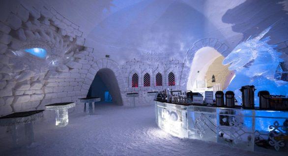 """(VIDEO) Cum arată hotelul de gheaţă """"Game of Thrones"""" şi cât costă o noapte"""