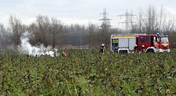 Un elicopter de salvare s-a ciocnit în zbor de un avion turistic, în Germania. Patru oameni au murit